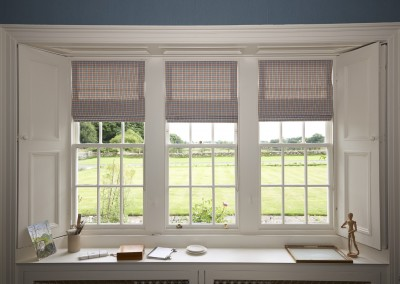 Study - three roman blinds