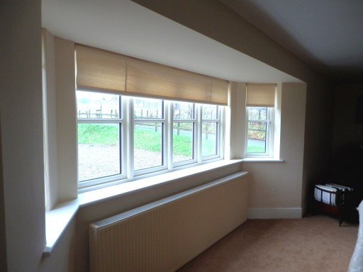 Laminated roller blinds